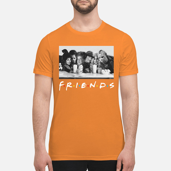 Halloween Friends Shirt.Best Hocus Pocus And Horror Movie Killers Halloween Friends Shirt